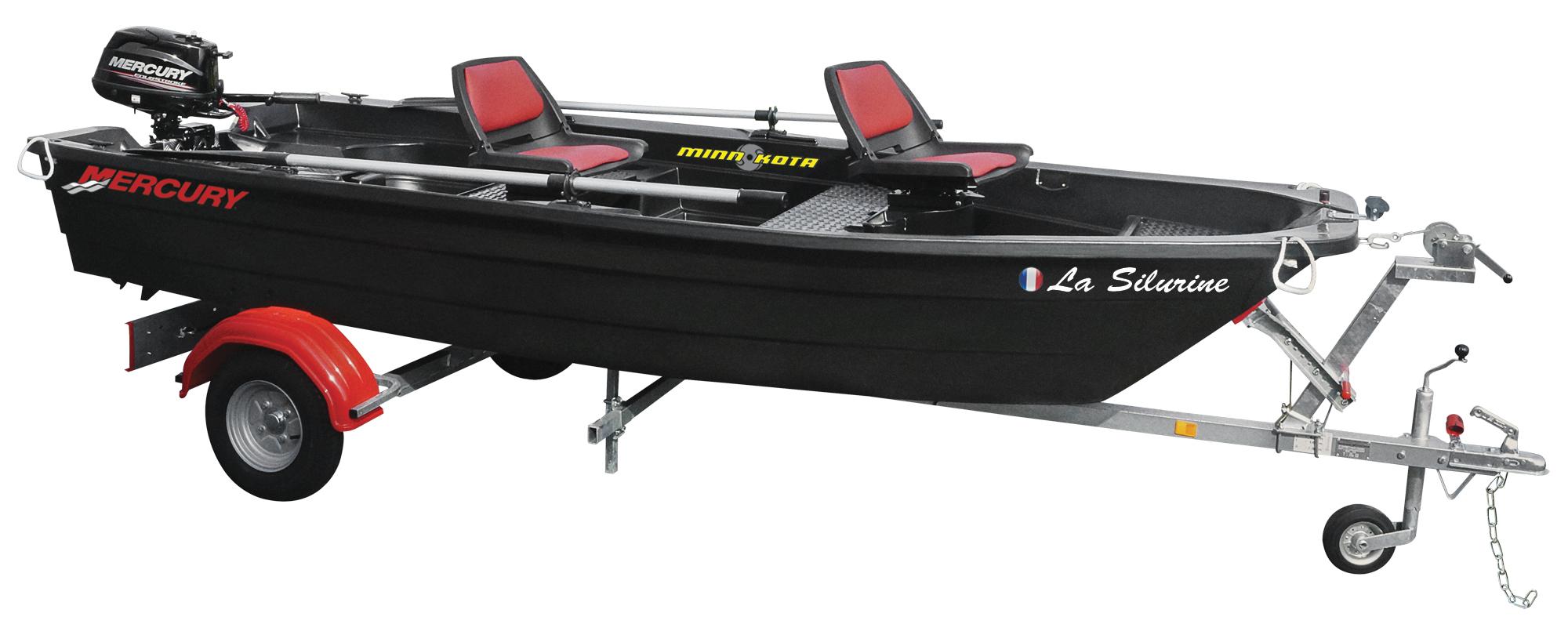 barque silurine 4m blacky