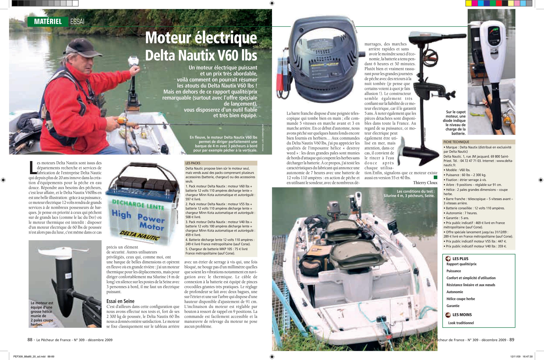 moteur électrique par delta nautic