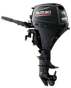 Suzuki 15CV 4T démarrage manuel/électrique