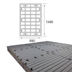Lot de Pontons flottants Module 1 - 990 x 1490