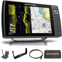Sondeur GPS Humminbird Hélix 12 G4N CHIRP MEGA SI + Sonde 140/240/1075/1200 KHz