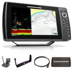 Sondeur GPS Humminbird Hélix 10 G4N CHIRP DS 2D + Sonde 140/240 KHz