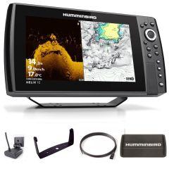 Sondeur GPS Humminbird Hélix 10 G4N CHIRP MEGA DI + Sonde 140/240/1075/1150 KHz