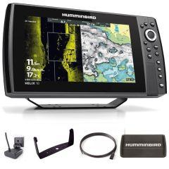 Sondeur GPS Humminbird Hélix 10 G4N CHIRP MEGA SI + Sonde 140/240/1075/1200 KHz