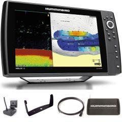 Sondeur GPS Humminbird Hélix 12 G4N CHIRP DS 2D + Sonde 140/240 KHz