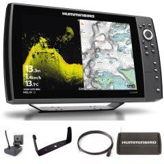 Sondeur GPS Humminbird Hélix 12 G4N CHIRP MEGA DI + Sonde 140/240/1075/1150 KHz