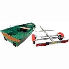 Pack barque la Spacieuse 320 + remorque standard Mecanorem