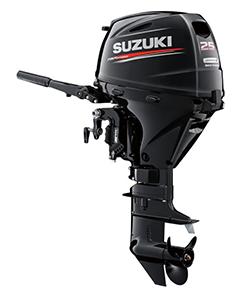 Suzuki 25CV 4T démarrage manuel/électrique