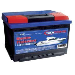 Batterie 105A 12V décharge lente