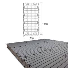 Lot de Pontons flottants Module 2 - 990 x 1990