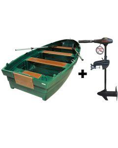 Pack barque la Grand Espace 440 + moteur électrique V 55 lbs