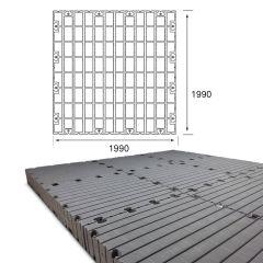 Lot de Pontons flottants Module 4 - 1990 x 1990
