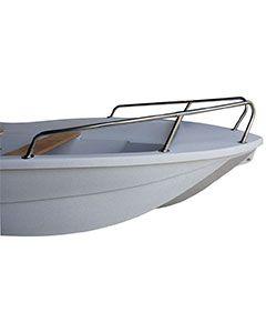 Balcon inox grand modèle pour barque