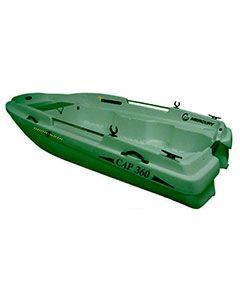 Barque de pêche Rigiflex Cap 360 verte