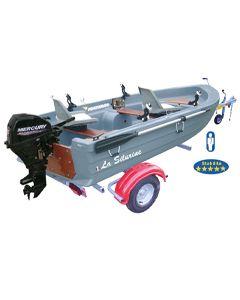 Pack barque Silurine Sport 3m73 + Mercury 6CV 4T+ remorque GT