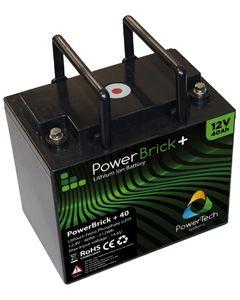 Batterie lithium 12V 40AH Powerbrick
