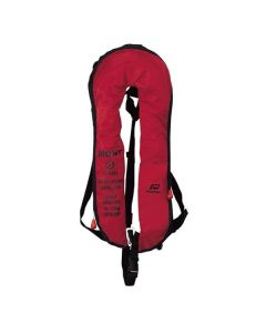 Gilet Gonflable SOLAS Nylon Rouge