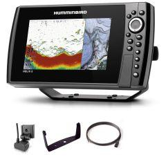 Sondeur GPS Humminbird Hélix 8 G4N CHIRP XD 2D + Sonde 50/200 KHz