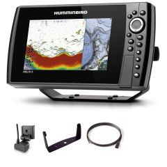 Sondeur GPS Humminbird Hélix 8 G4N CHIRP DS 2D + Sonde 140/240 KHz