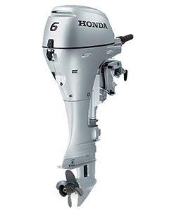 Honda 6CV 4T bicylindre barre franche