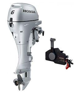 Honda 6CV 4T bicylindre commande à distance
