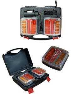 Kit feux de remorque sans fil LED
