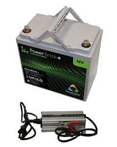 Pack batterie lithium Powerbrick + chargeur