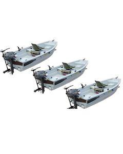 Lot de 3 barques Spacieuse 3m20 Titanium