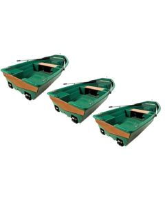 Lot de 3 barques Spacieuse 3m20