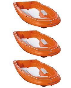 Lot de 3 Newmatic 400 : Barques de sécurité