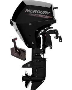 Mercury 15CV 4T court EFI démarrage électrique