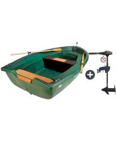 Barque N° 5 Familiale 3,00m et moteur Eco Booster 36 lbs
