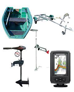 Pack Armor 250 + Eco Booster V36 + remorque Pack Plus + support sondeur + sondeur Hummingbird