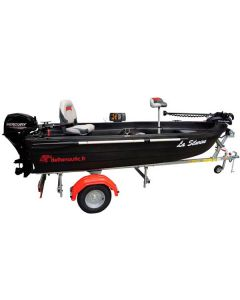 Pack barque Silurine Sport 373 Blacky Bass Boat