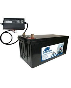 Pack batterie Lithium 24 V 100 AH + Chargeur