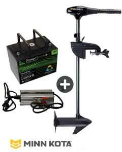 Pack Endura C2 V2 12V Minn Kota + batterie Lithium + chargeur
