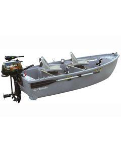 Pack plus Spécialiste 3,50 m option hors bord et remorque