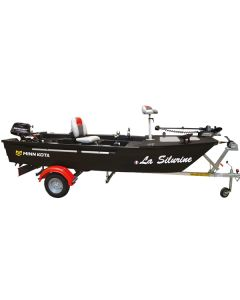 Pack Silurine 4m Bass Boat Blacky