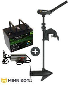 Pack Traxxis Maximizer Minn Kota + batterie Lithium + chargeur