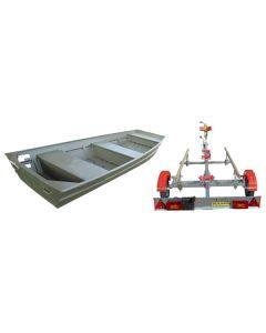 Barque Sierra 366 plate forme et remorque Grand Tourisme