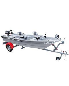 Pack Plus barque Silurine  4m avec remorque Nautic Plus et moteur Mercury 6CV 4T