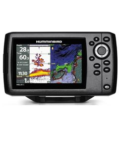 Sondeur GPS Humminbird Hélix 5 CHIRP G2 + Sonde 83/200 KHz