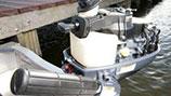 Réservoir de carburant intégré avec robinet pour réservoir externe