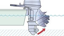 Système de navigation en eaux peu profondes