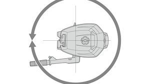 Direction à 360° pour des changements de direction instantanés
