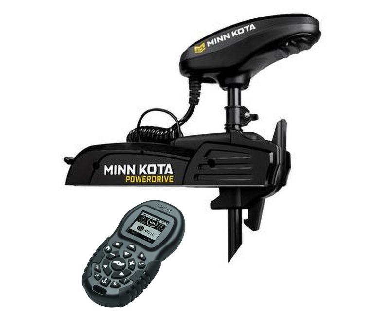 Moteur Minn Kota Powerdrive 55 lbs BT 12V avec I Pilot BT