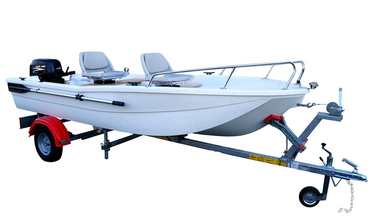 Barque Aquasilure 3m80