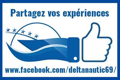 Partagez vos photos sur le facebook de Delta Nautic